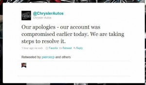 Chrysler Social Media Fail