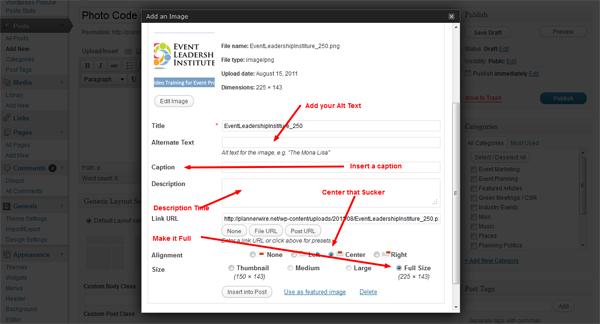 how to add a sidebar image in wordpress
