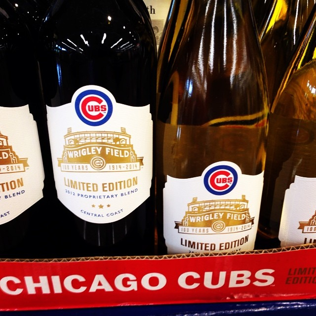 Really. A Cubs wine? Perhaps to forget they are always losing?