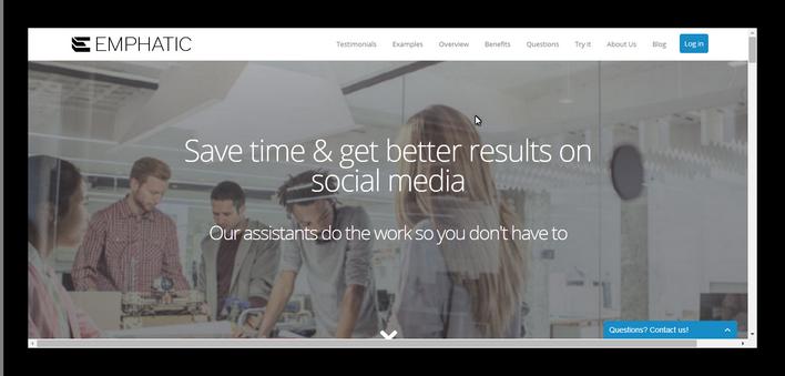 Emphatic-Homepage