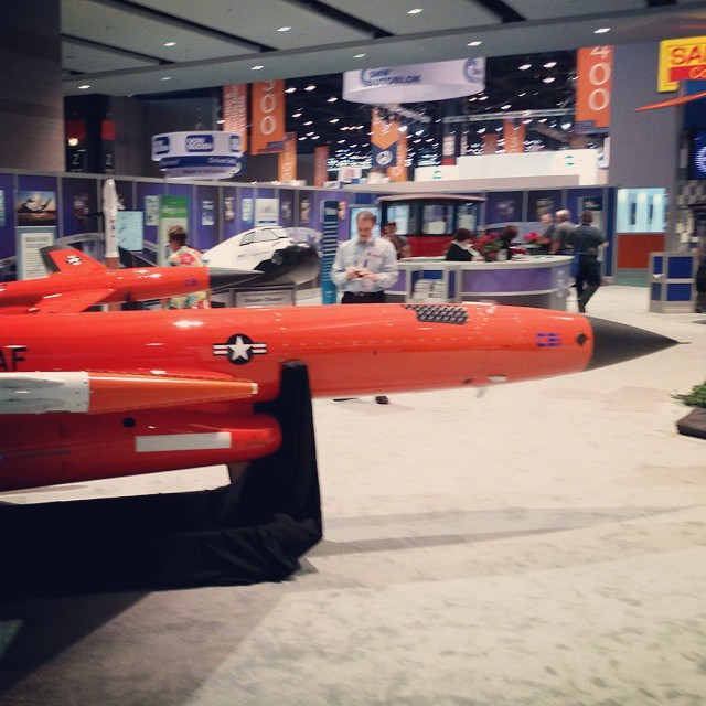 Spied at IMTS last week...