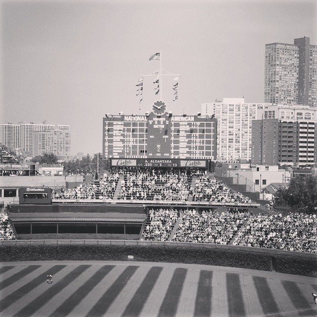 Love that Wrigley Field...