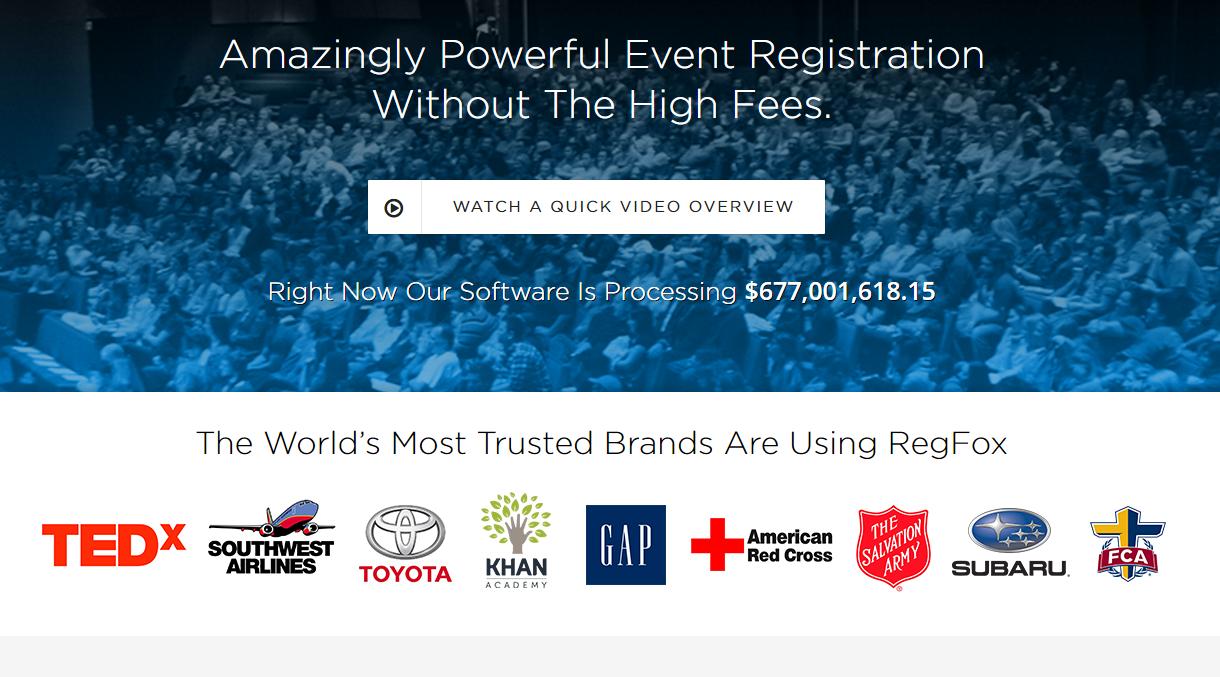 RegFox-Event Registration System