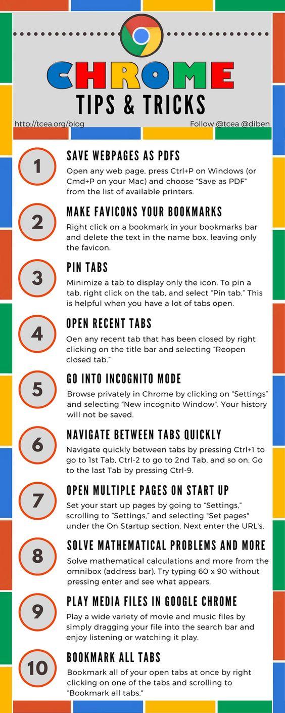 Google Chrome Tips and Tricks for Event and Association