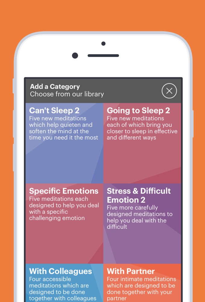 Buddhify is an app that meeting planners can use to Meditate.